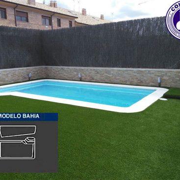 Piscina de Poliester modelo Bahia